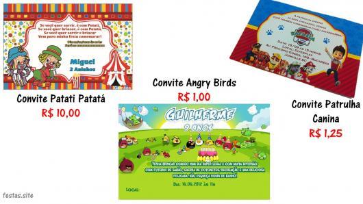 65 Convites Personalizados Infantis Adoráveis & Onde Fazer O Seu!