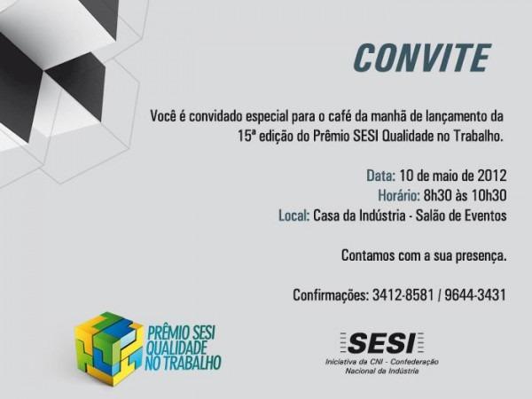 Prêmio Sesi Qualidade No Trabalho (psqt)