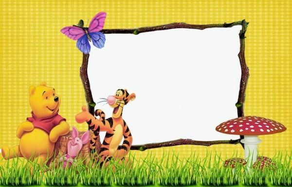 Aprende Brincando  10 Convites De Aniversário Do Urso Pooh