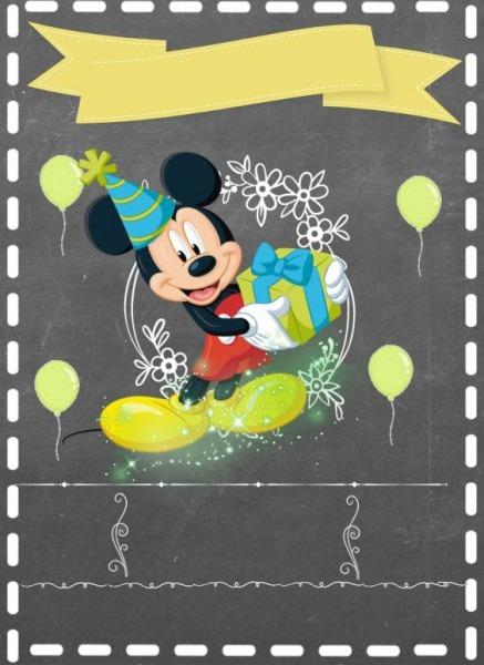 17 Convite Do Mickey Para Imprimir Gratis