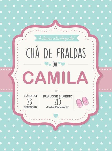 Chá De Fralda Poá