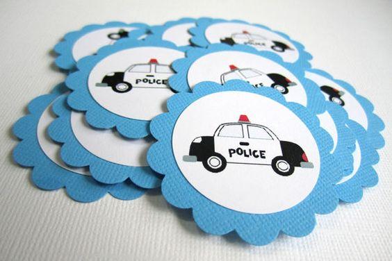 Decoração De Festa Infantil Policial
