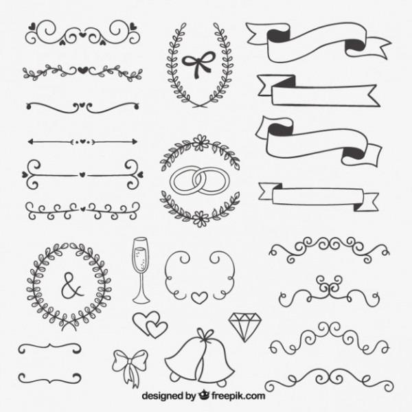 Desenho Decoração Para Casamento