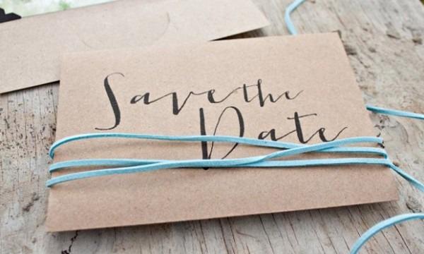 Save The Date  Ideias Originais De Pré