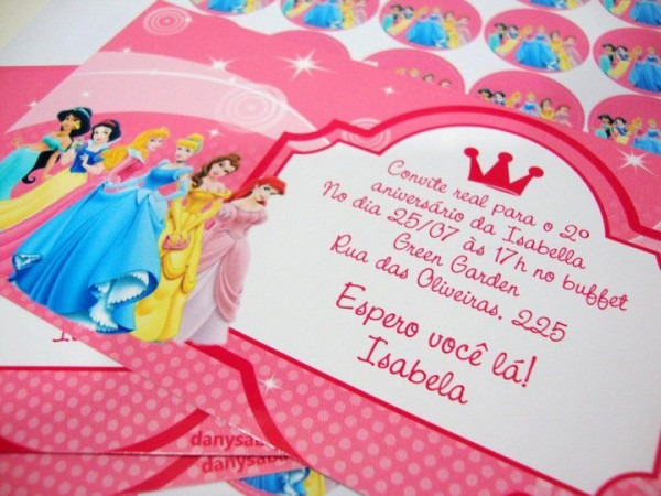 Convites Para Aniversário Infantil  Dicas E Modelos Para Imprimir