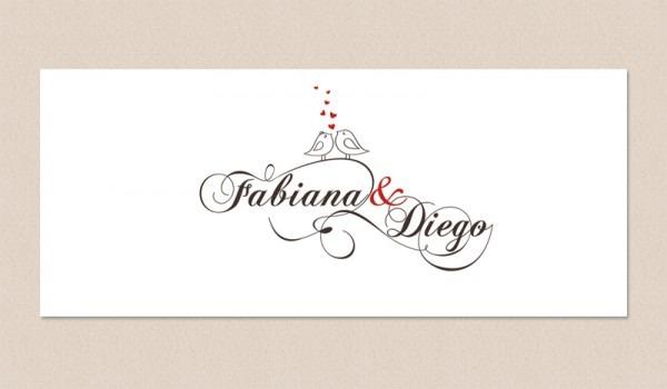 Logo Para Convite De Casamento