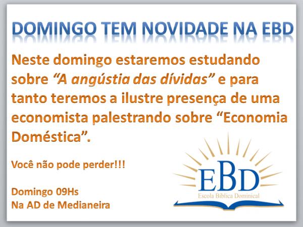 Convite Ebd