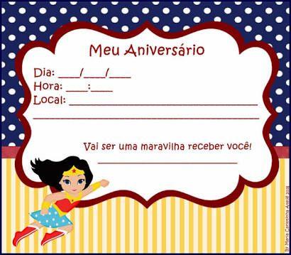 Resultado De Imagem Para Convite De Aniversario Da Mulher