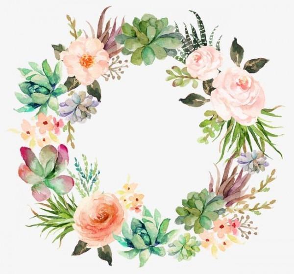 Beautifully Garland,flower Garlands,garlands,water Painted