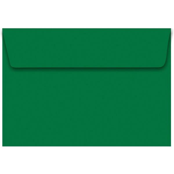 Envelope Convite Colorido 162x229mm Verde C Plus 80g Cx C 100