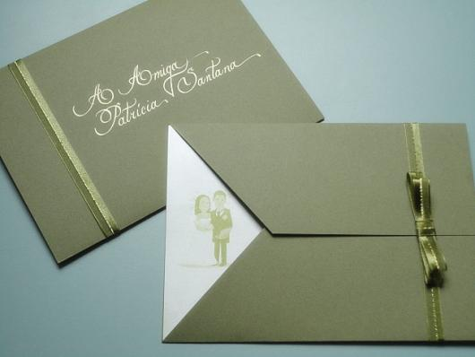 Envelope Para Convite – 60 Modelos Apaixonantes & Tutorial Diy!