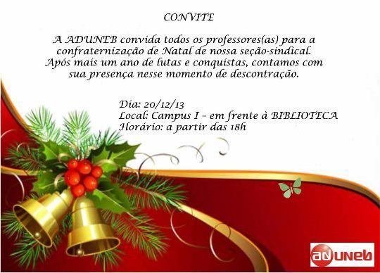 Modelo Convite Festa Confraternização Cooperativa