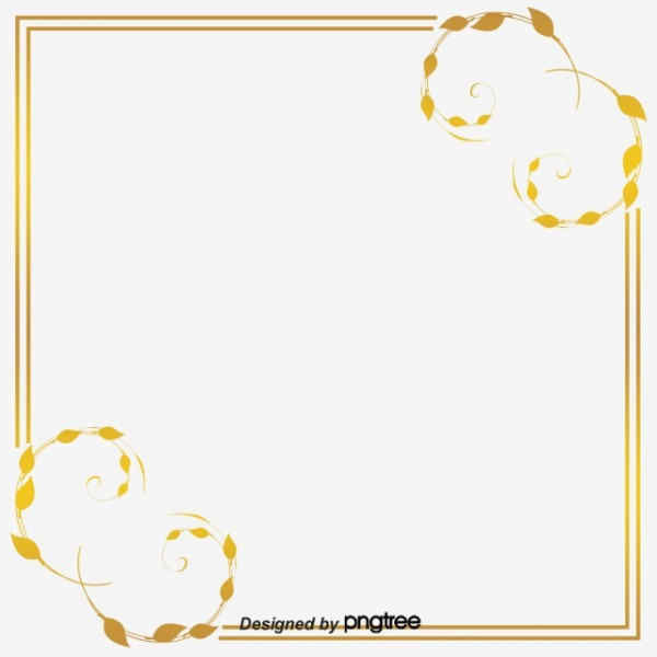 Com Moldura Dourada Golden Timbo A Textura Png Imagem Para