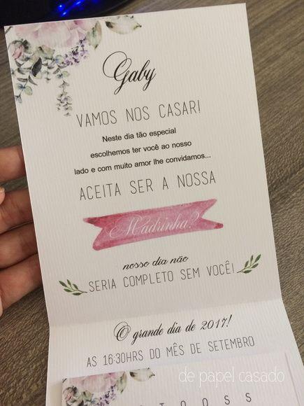 Convite Madrinha 05