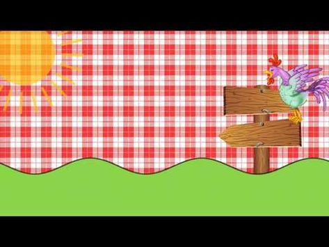 Convite Virtual Animado Tema Fazendinha Grátis Para Baixar E