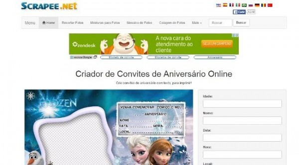 Fazer Convite Online Grátis Para Imprimir  4 Melhores Sites!