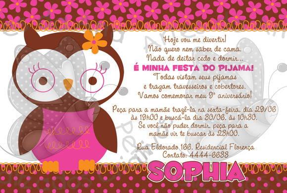 Festa Do Pijama No Elo7