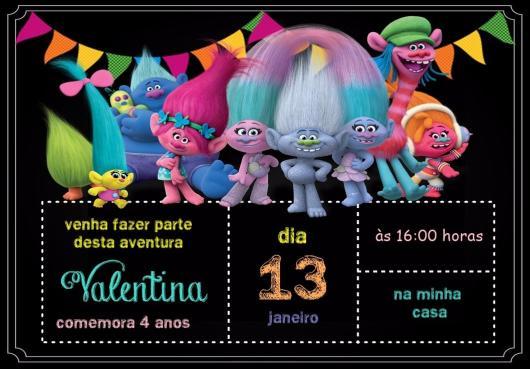 Festa Trolls – 70 Inspirações De Bolos, Lembrancinhas & Como Decorar!