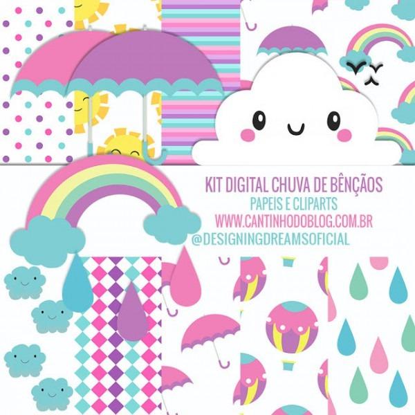 Kit Digital Chuva De BÊnÇÃos GrÁtis Para Baixar