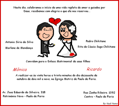 Frases De Convite De Casamento Engraçadas