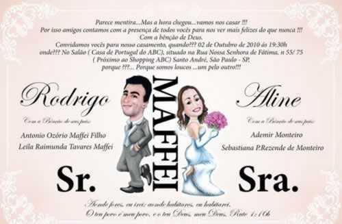 Frases De Casamento Engraçadas Para Convites
