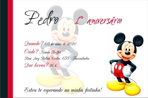 Frases Para Convite De Festa Infantil