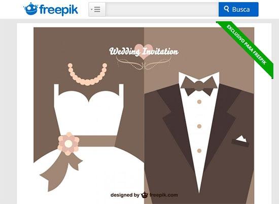 Convites De Casamento Grátis