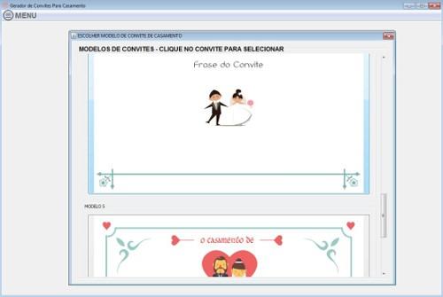 Gerador De Convites Para Casamento
