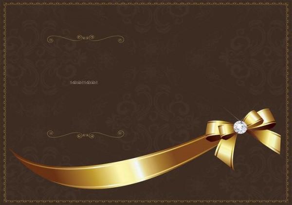 Convite De Luxo Dourado Modelo Psd