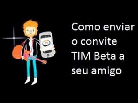 Como Enviar O Convite Tim Beta Pelo Celular Ios Ou Android