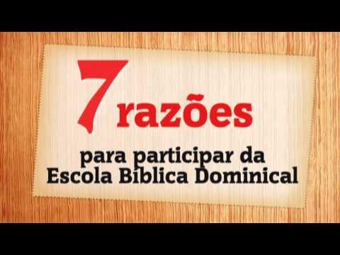 Convite A Escola BÍblica Dominical