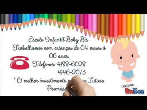 Convite Virtual Da Formatura Escola Infantil Baby Bis 2017