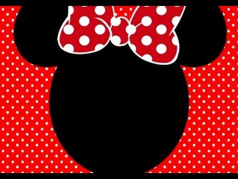 Preparativos Aniversário Valentina (minnie Vermelha