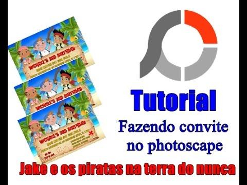 Fazendo Convite No Photoscape