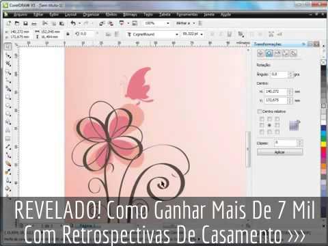 Video Aula Corel Draw Como Criar Um Convite De Casamento