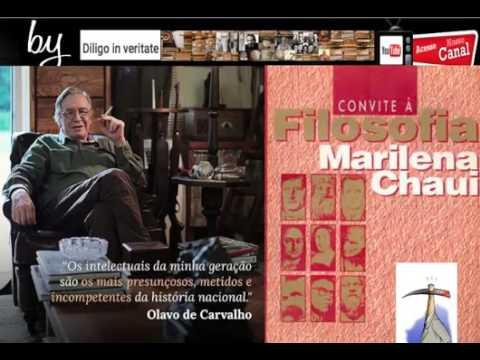 Olavo De Carvalho Detonando O Livro  Convite à Filosofia  Da