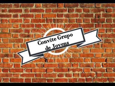 Convite Grupo De Jovens 06 05 2017