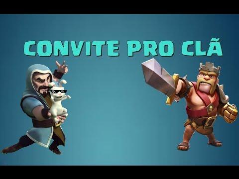 Convite Pro Meu Clã No Clash Of Clans!!!