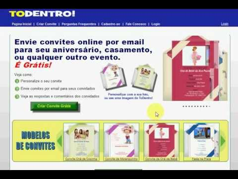 Convites Chá De Bebê  Criar Convite Cha De Bebe Virtual Online