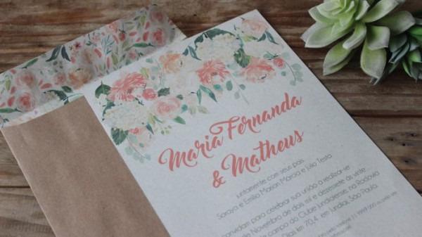 Como Fazer Convite De Casamento Rústico Diy