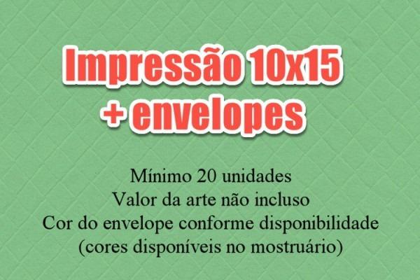 Impressão De Convite 10x15 No Elo7