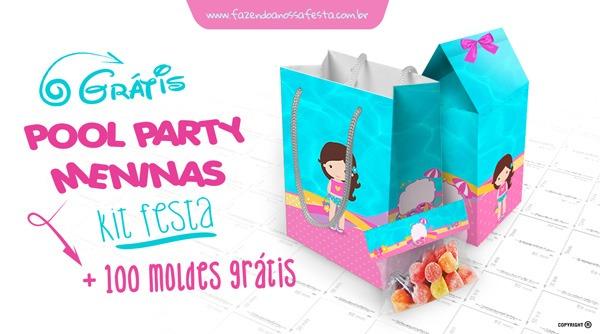 Pool Party Meninas (festa Na Piscina)