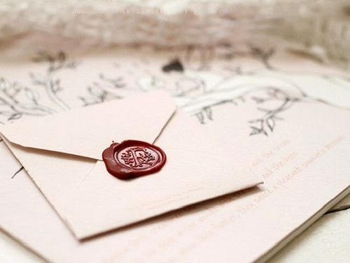 Lacre De Cera Para Convites De Casamento
