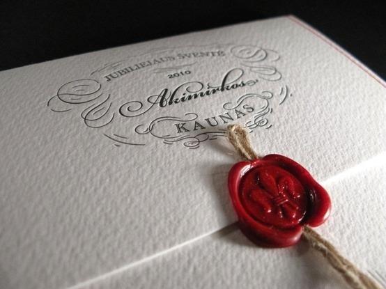 Lacre De Cera Para Convite De Casamento