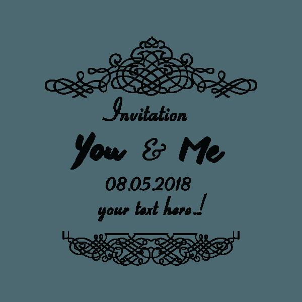 Wedding Invitation Ornaments Labels Creative Etiquetas Ornamentos