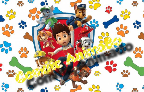 Convite Animado Patrulha Canina Para Editar