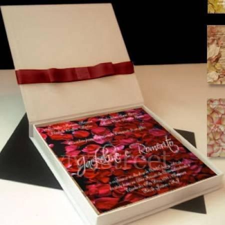 Caixa Convite Box So Cx E Fita