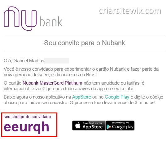 Nubank  Cartão De Crédito Grátis, Sem Anuidade E Sem Tarifas