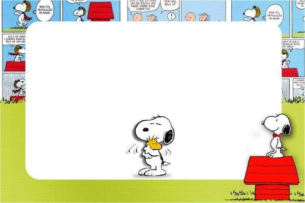 Kit Completo Digital Snoopy