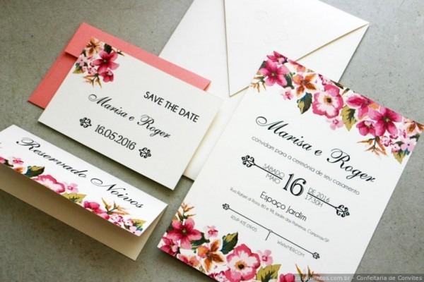 40 Modelos De Convites De Casamento